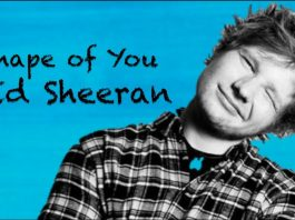 lirik Shape of You - Ed Sheeran